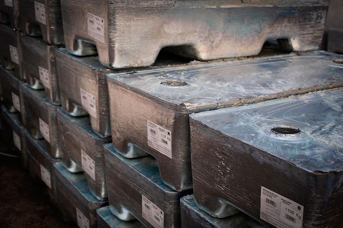 Material galvanizado