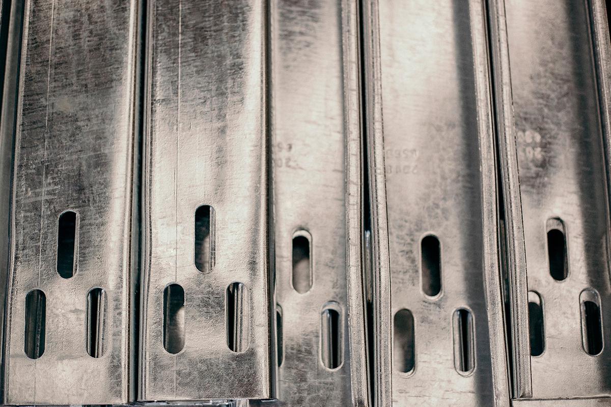 Material galvanizado por inmersión en caliente